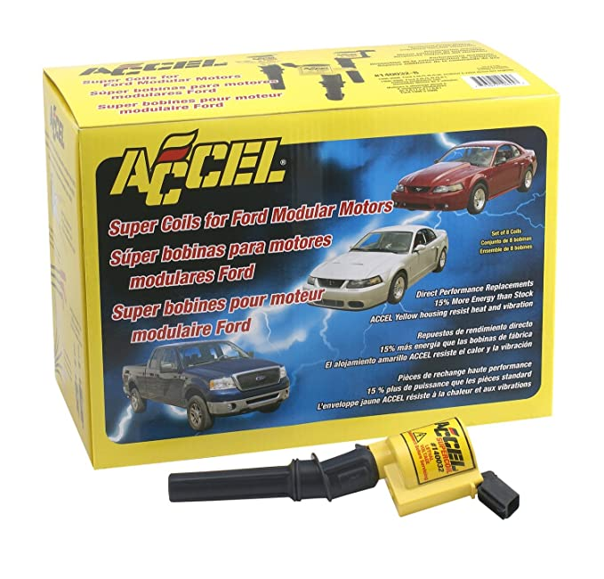 Ignition Coil-Direct Accel 140032
