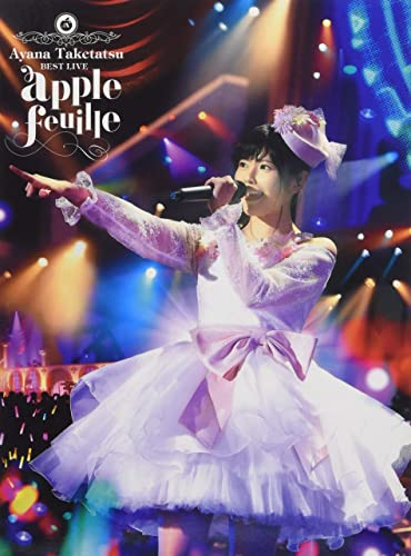 竹達彩奈 BEST LIVE apple feuille Blu-ray