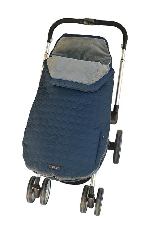 JJ Cole JUTBBM - Saco de abrigo universal para cochecito, color azul marino