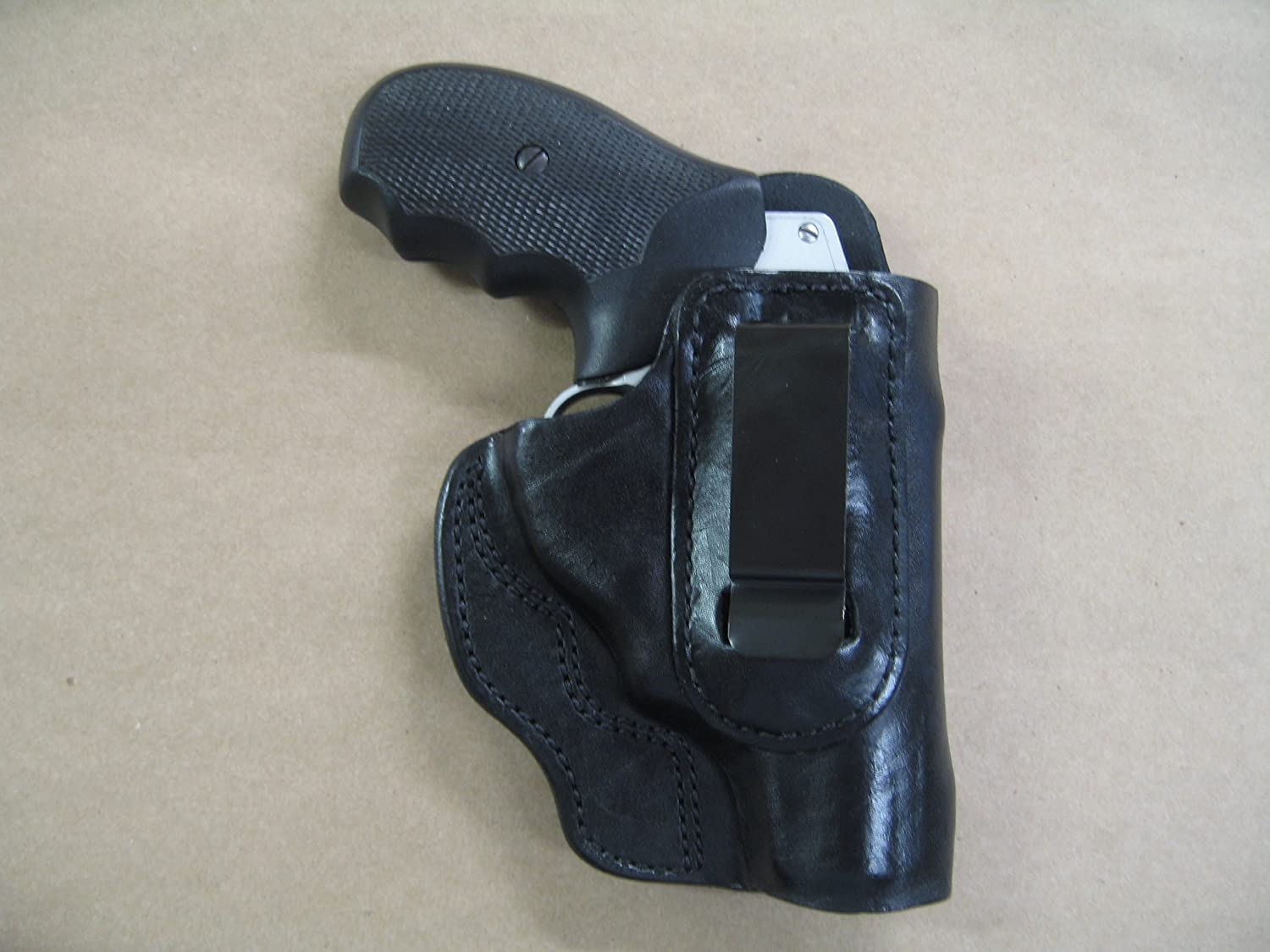Azula in The Waistband IWB Concealed Carry Holster for Taurus 605 Polymer  Poly  357 5 Shot CCW Black RH