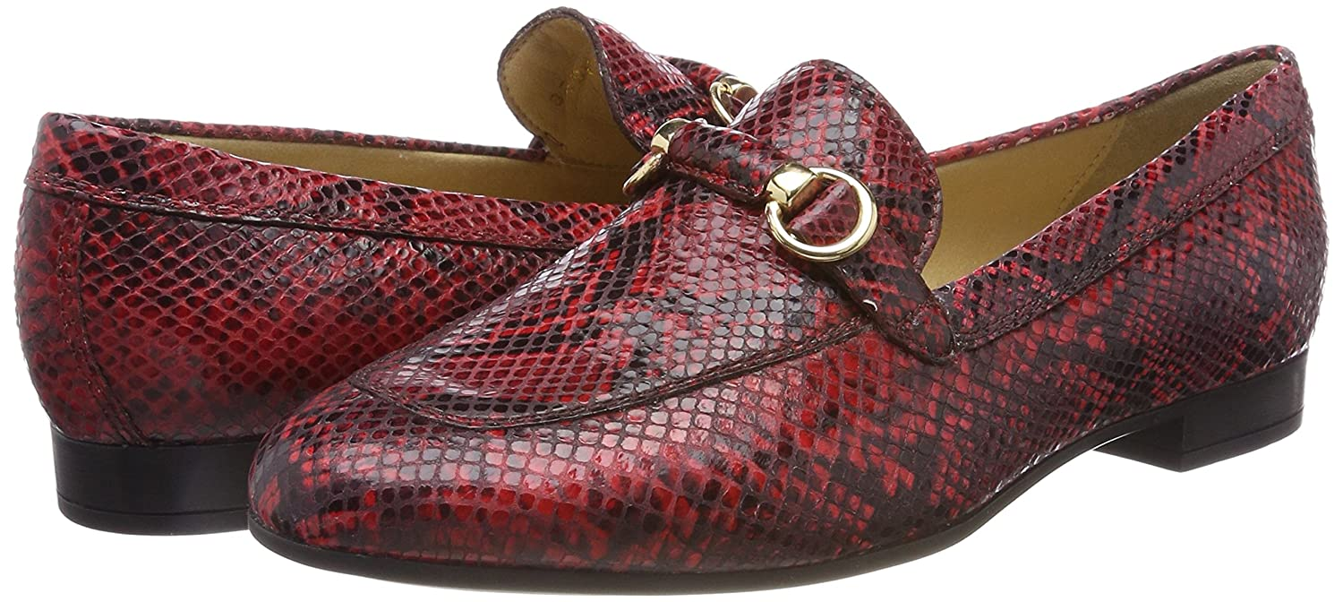 Geox D Marlyna F, F, F, Mocassini Donna Rosso (Scarlet) 3e4d78