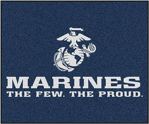 Fanmats Military Marines Nylon Face Tailgater Rug
