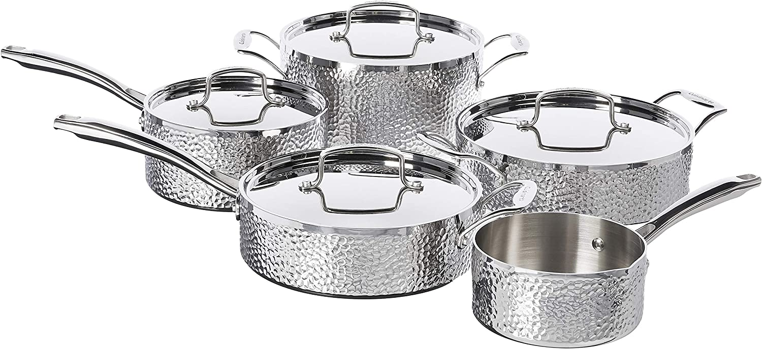 "Cuisinart HTP-9 Hammered Collection. 5 Best Cuisinart Pots And Pans: ""5 Tips In Reviews"""