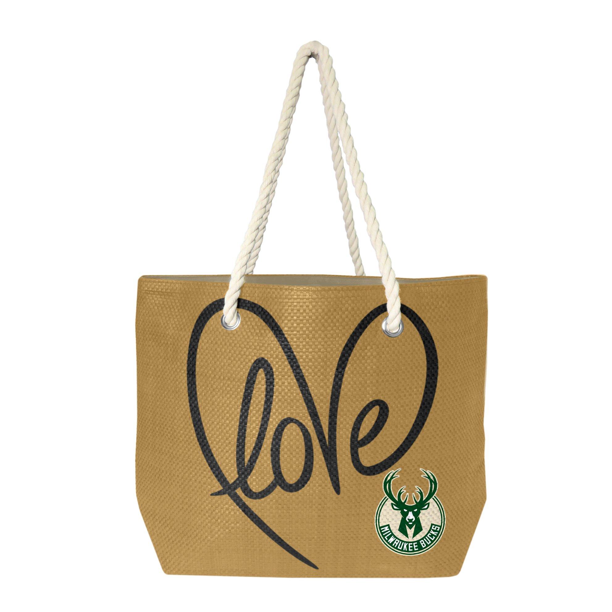 NBA Milwaukee Bucks Rope Tote Bag by Littlearth
