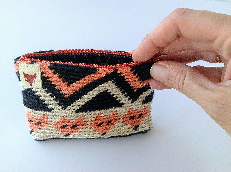 monedero pequeño de ganchillo: Amazon.es: Handmade