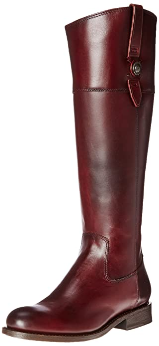 Amazon.com | FRYE Women's Jayden Button Tall-SMVLE Riding Boot ...