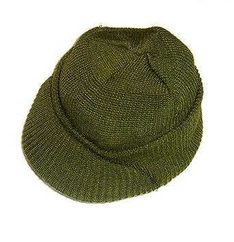 Amazon.com  US Army Wool Military Jeep Cap Hat  Skull Caps  Clothing 8e7d123536