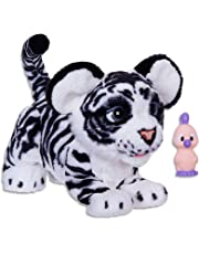 FurReal - Ivory The Roarin Playful Tiger - Sound and Motion Activated - Plush Pets - Interactive Kids Toys - Ages 4+