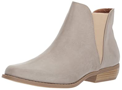 Women's Leesa Slip On Basic Double Gore Chelsea Bootie Ankle Boot
