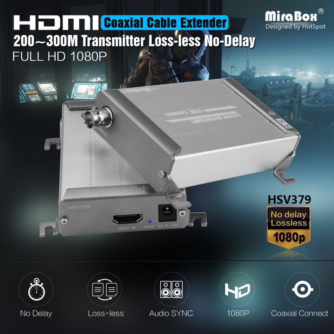 Mirabox HDMI Extender über Single RG59: Amazon.de: Elektronik