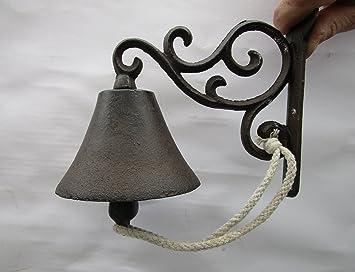 """Puerta campana de hierro fundido Campana Decorativa envejecido """"Top calidad 57014"""