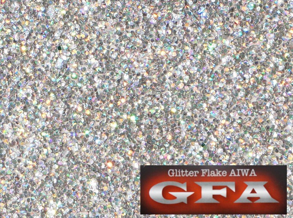 国産 GFA グリッター フレーク レインボー 170g / ラメ カスタム ネイル ヘルメット B07787YGXG 170g|レインボー
