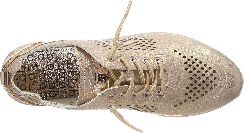 bugatti 421452015959, Sneakers Basses Femme Multicolore Rose Metallic
