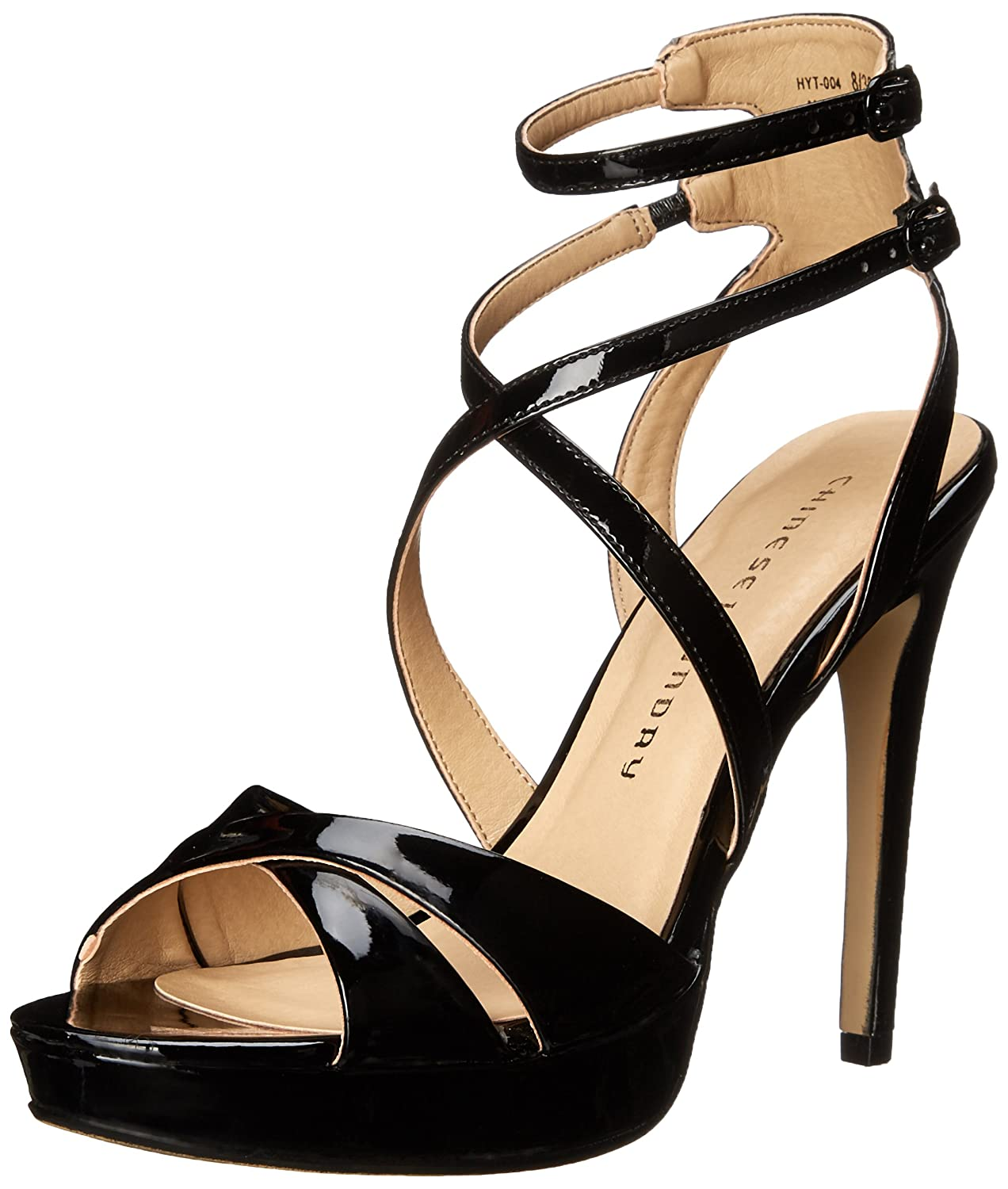 Amazon | Chinese Laundry Womens HIghlight Open Toe Ankle Strap Platform  Pumps | Chinese Laundry(チャイニーズランドリー) | パンプス