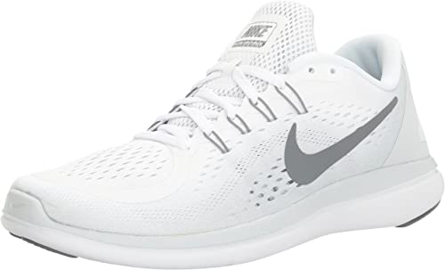 clase Interpersonal visual  Nike Men's Free RN Sense Running Shoe, Zapatillas Deportivas para Interior  para Hombre, (Blanco/Gris), 49.5 EU: Amazon.es: Zapatos y complementos