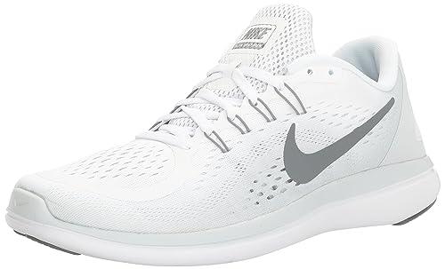 Nike 898457, Zapatillas para Hombre, (Blanco/Gris), 44 EU: Amazon.es: Zapatos y complementos