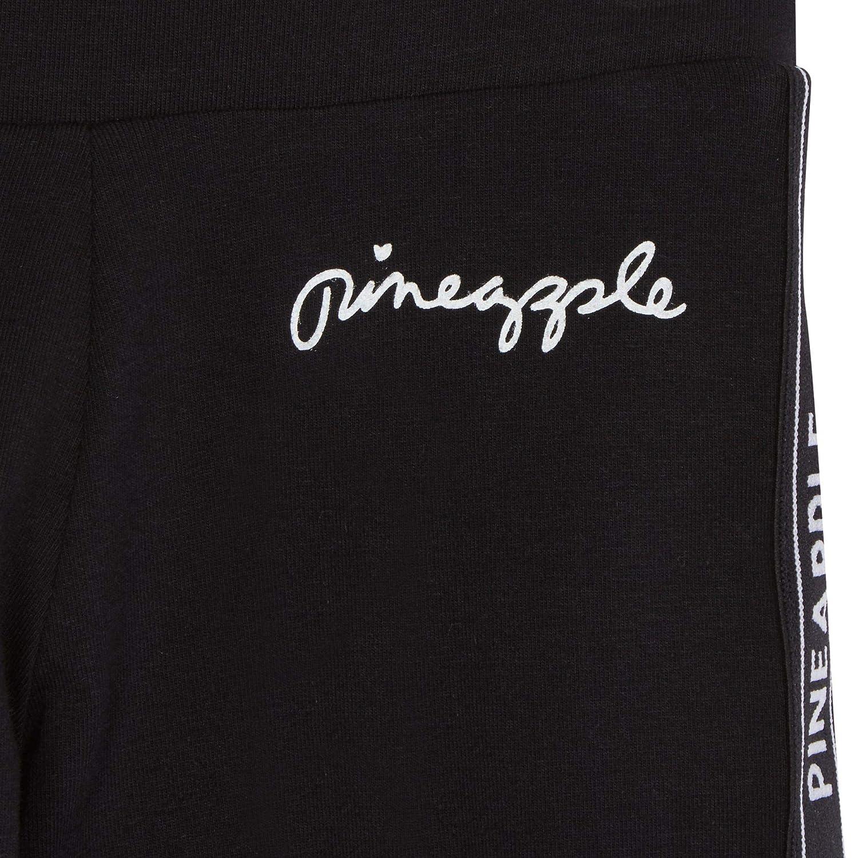 Pineapple Kids Girls Logo Print Leggings