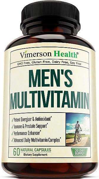 alimento multivitamínico para hombres