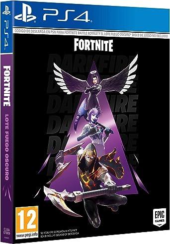 Fortnite: Lote Fuego Oscuro (Esta caja contiene código de descarga): Amazon.es: Videojuegos