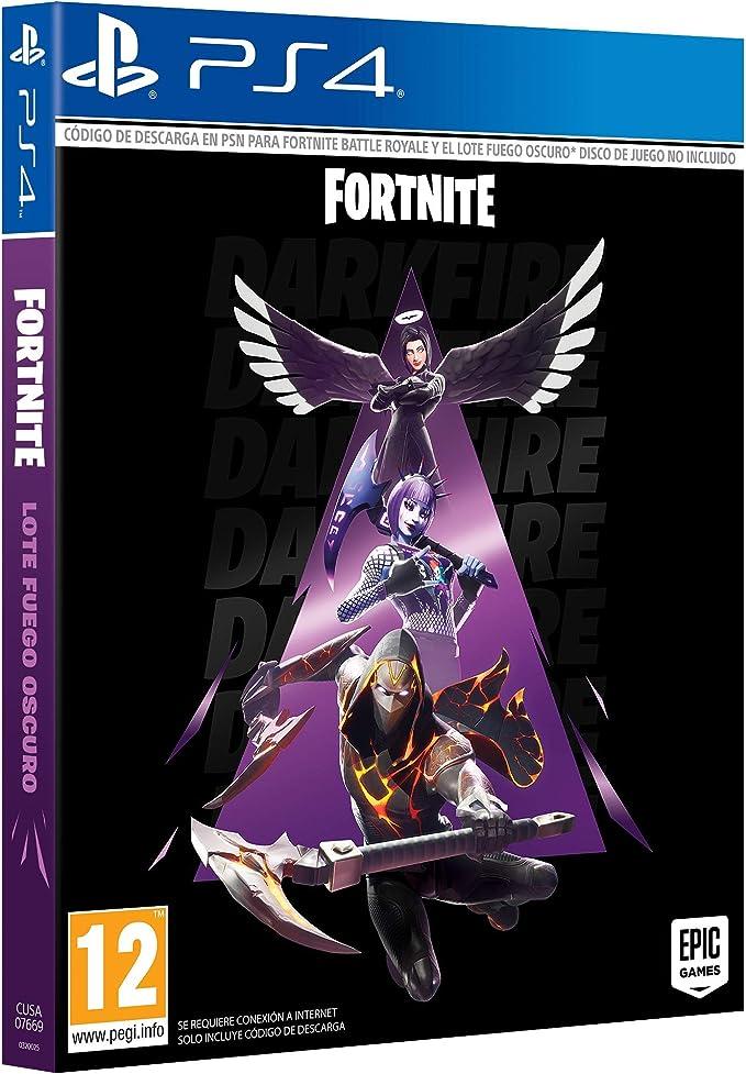 Fortnite: Lote Fuego Oscuro (Esta caja contiene código de descarga ...
