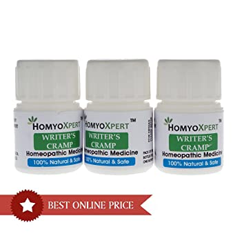 Amazon.com: homyoxpert Calambre de escritor homeopático ...