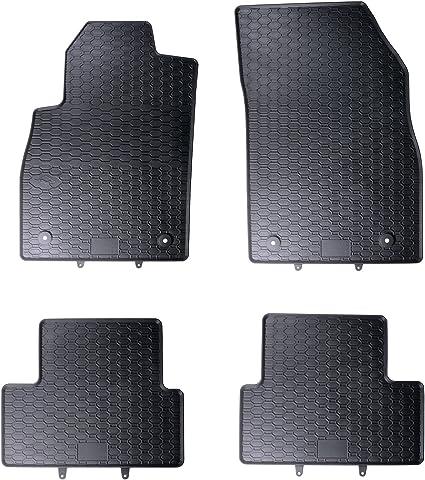 Dapa Weiche Gummimatten Für Astra J Und Cruzer Gummi Fußmatten Komplettset Schwarz Perfekt Passend Mit Rand 1103380 Auto