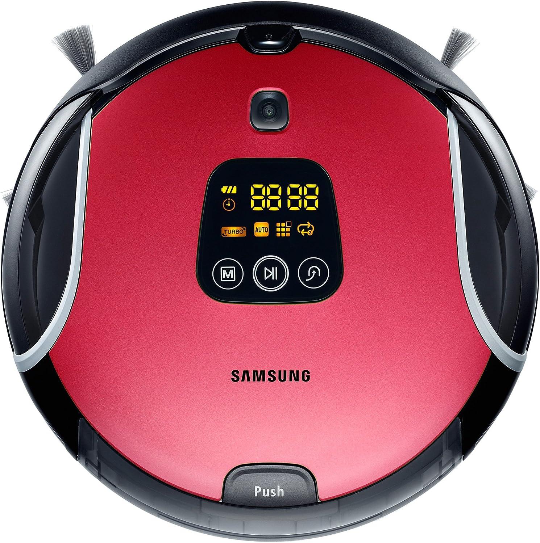 Samsung VCR8930L3R aspiradora robotizada - aspiradoras robotizadas (Negro, Rojo, Sin bolsa, 60 Db, 3h, 8 cm, 35 cm): Amazon.es: Hogar
