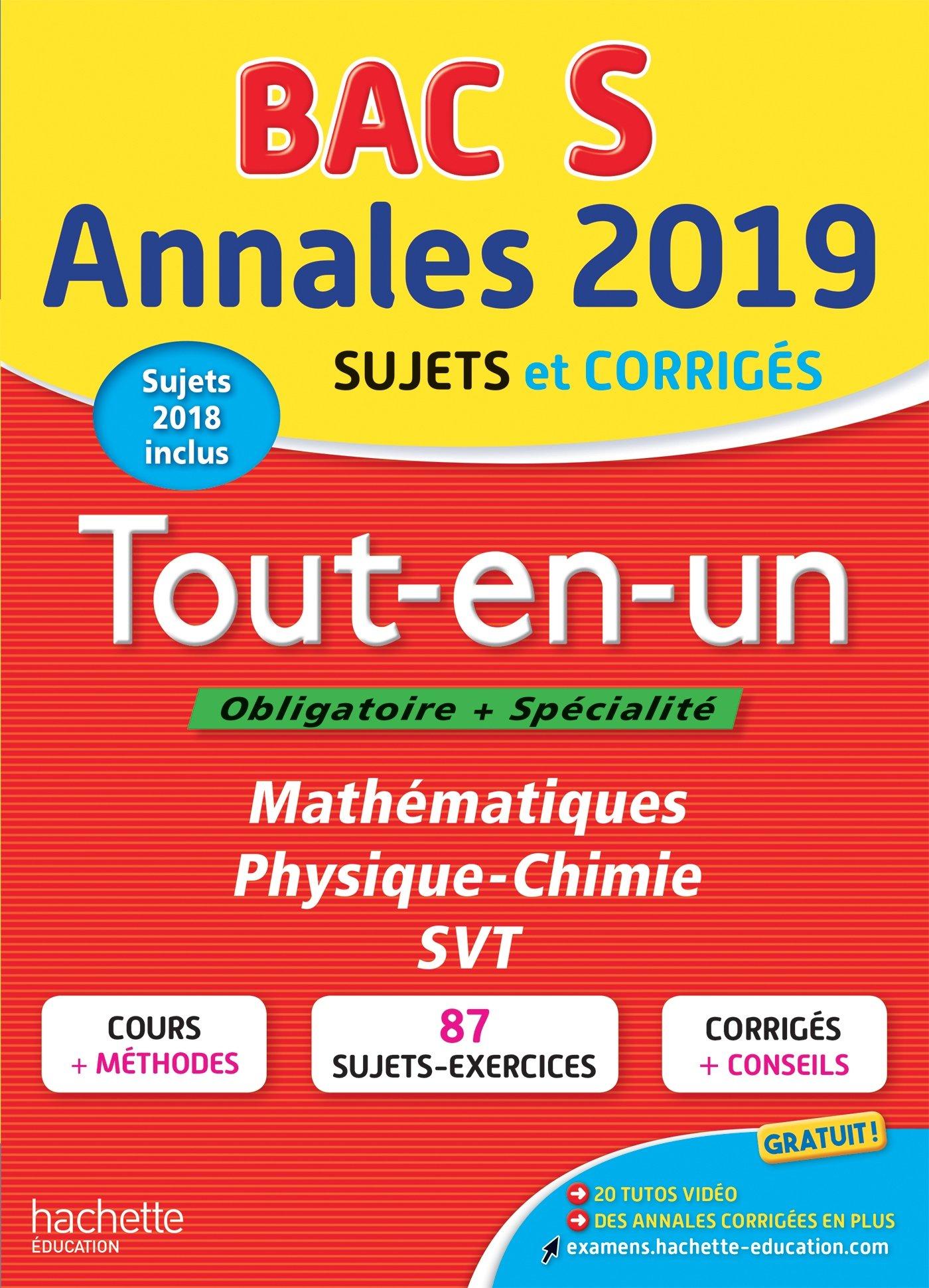 Annales Bac 2019 Tout-en-un Terminale S Annales du Bac: Amazon.es: Frédérique de La Baume-Elfassi, Patrice Delguel, Sandrine Dubois, Sandrine Bodini-Lefranc ...