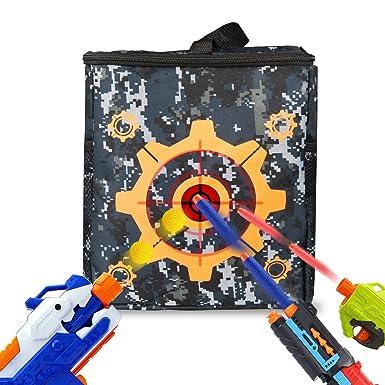 Target Pouch Storage Bag for Nerf Gun Toys Nerf N-strike Elite, Mega,
