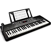Alesis Melody 54 | 54-Key Electric Keyboard Piano with Speakers, Microphone, Music Rest, Educational Tools, 300 Sounds…