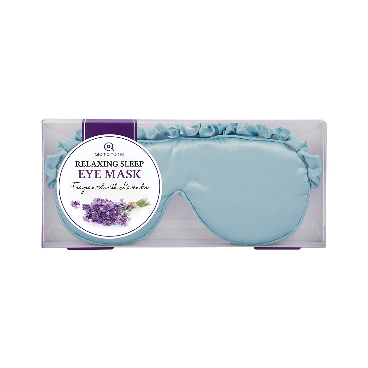 Aroma Home Aqua Blue Luxurious Eye Mask EM13-0026