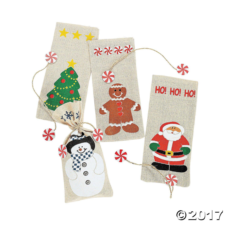 Amazon.com: Felt Penguin Drawstring Winter Christmas Holiday Gift ...