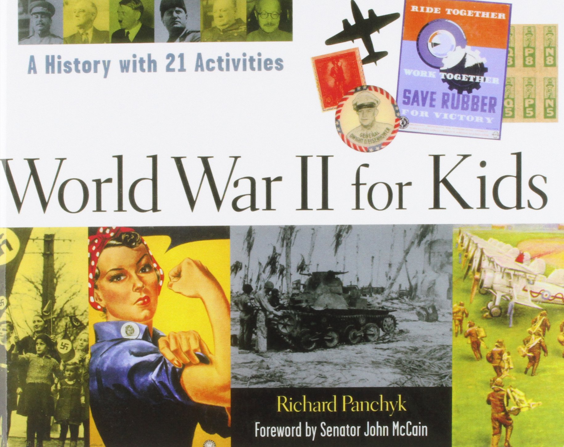 Read Online World War II for Kids: A History With 21 Activities ebook
