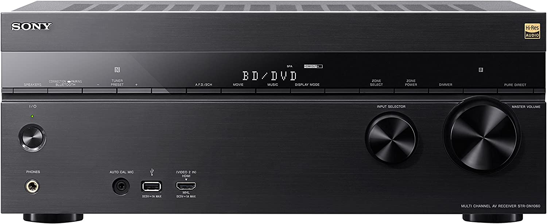Sony STRDN1060 7.2 Channel Hi-Res WiFi Network AV Receiver (Black)