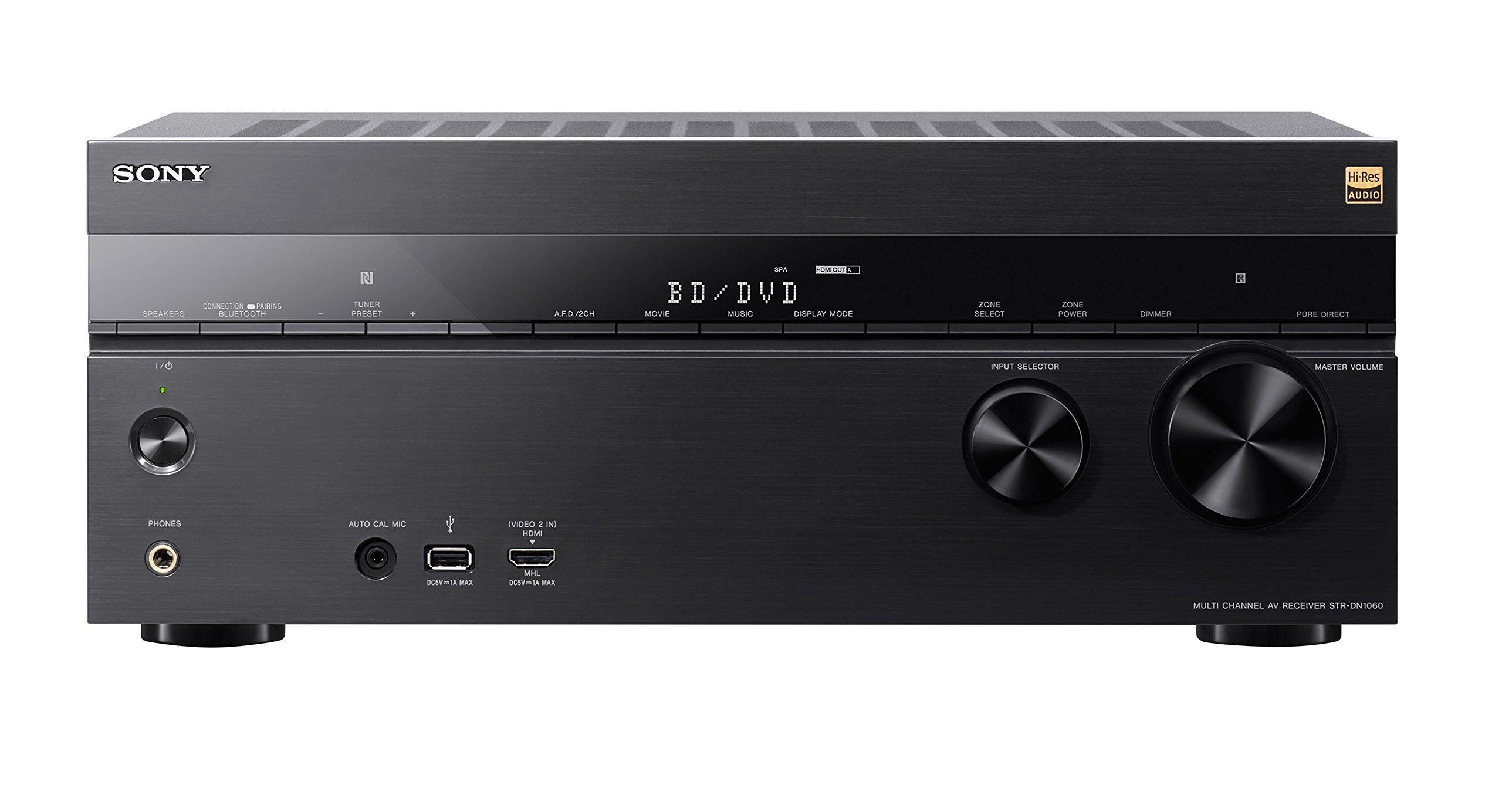 Sony STRDN1060 7.2 Channel Hi-Res WiFi Network AV