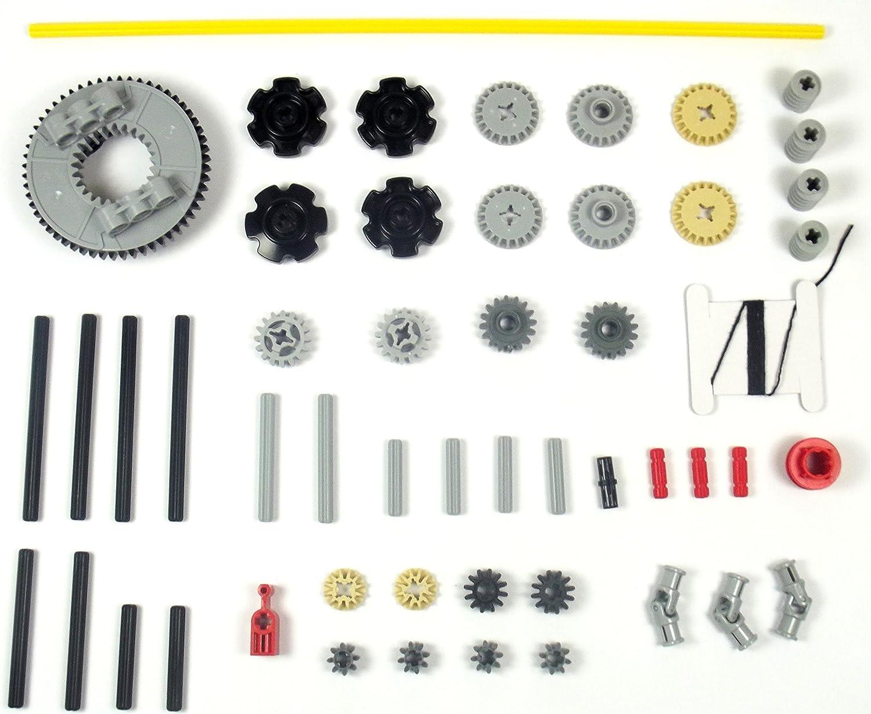 LEGO TECHNIC engrenage 20 Dents Noir 2 Pièce 1334