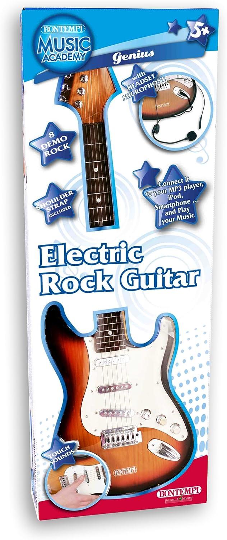 Bontempi 24 1310 Instrumento Musical de Juguete Guitarra Juguete Musical - Juguetes Musicales (Instrumento Musical de Juguete, Guitarra, 5 año(s), Niño,, Batería): Amazon.es: Juguetes y juegos