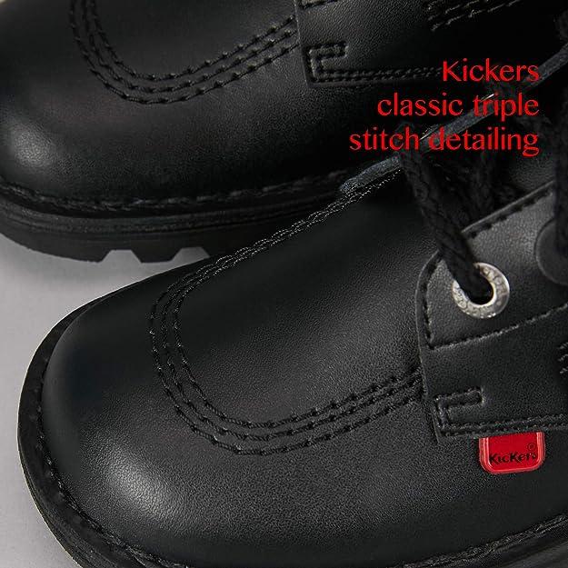 Kickers Kick Lo Cosmik Noir Daim Adulte Mode Chaussures
