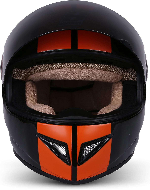 Cloth Bag /· White /· XS 53-54cm Sun Visor /· incl SOXON ST-666 Deluxe Snow /· Full-Face Scooter-Helmet Urban Cruiser Helmet Motorcycle-Helmet Sport Moto-Helmet Street /· ECE certified /· incl