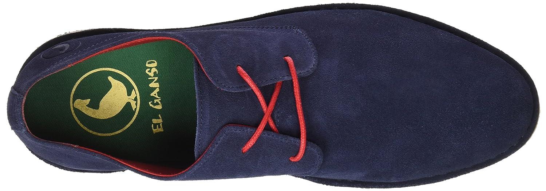 El Ganso M Botín Bajo Guerrero Hombre, Azul (Marino), 41 EU: Amazon.es: Zapatos y complementos