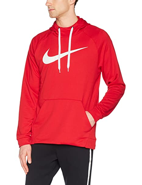 best online casual shoes buying new Nike Men's Dry Po Swoosh Hoodie: Amazon.co.uk: Sports & Outdoors