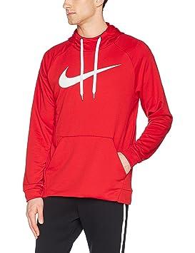 Nike M NK Dry PO Swoosh Sudadera, Hombre, Rojo / (University Red/White), 2XL: Amazon.es: Deportes y aire libre