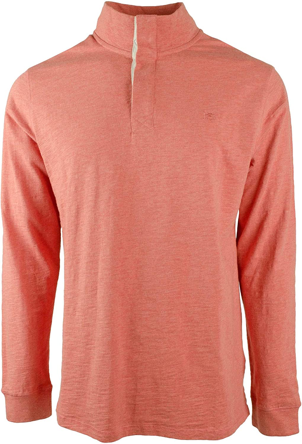 Southern Tide Home Men's LS Heather Gulf Stream Pullover Shirt