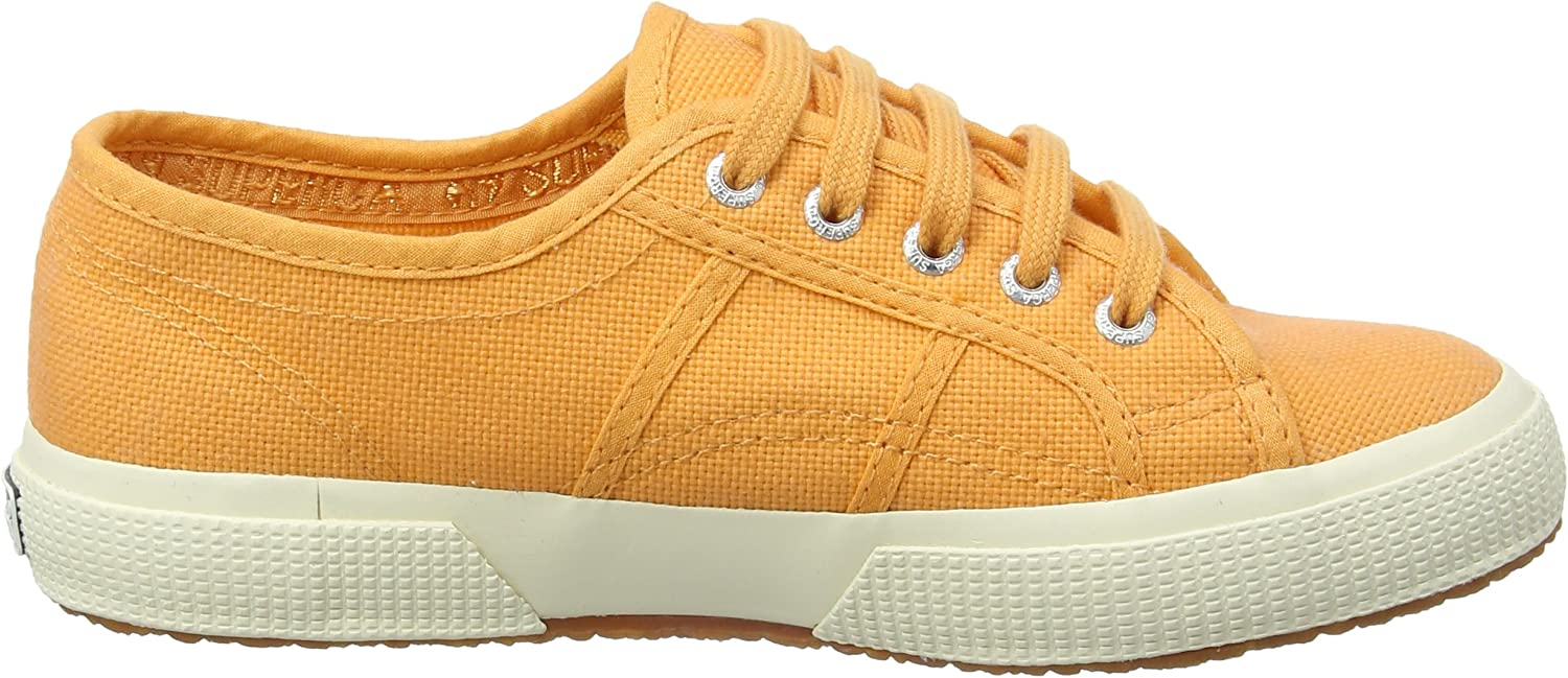 Superga 2750-Jcot Classic Baskets  Mixte Enfant - ,Rot, Orange Orange Clay
