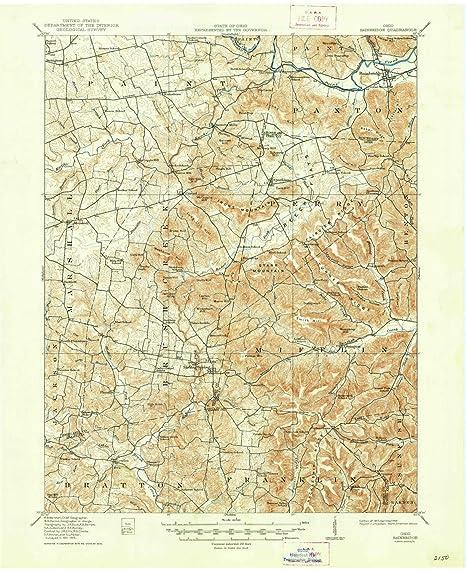 Amazon Com Yellowmaps Bainbridge Oh Topo Map 1 62500 Scale 15 X