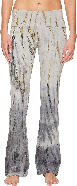 Hard Tail Womens Rolldown Bootleg Flare Pants