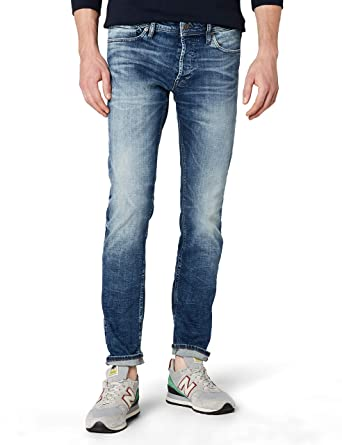 682e3badd9e Jack and Jones Men s 12094996 Glenn Original Slim Jeans  Amazon.co ...