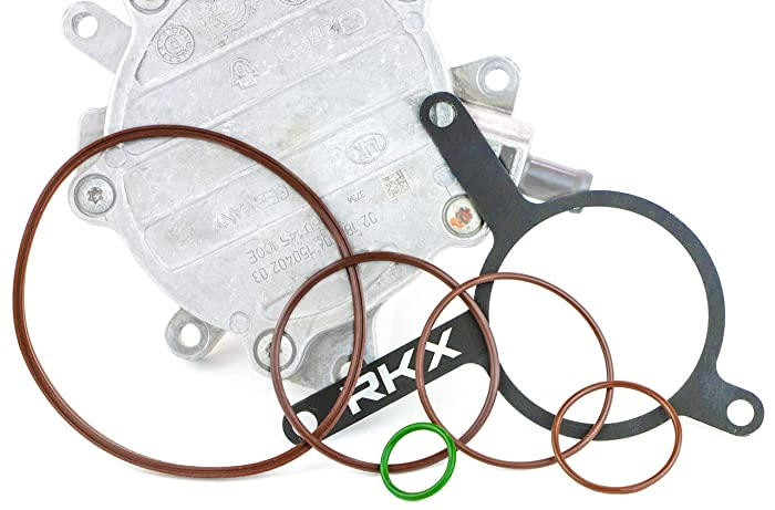 RKX LIFETIME 2.0T Vacuum Pump Re-seal Rebuild Kit for VW Audi 2.0 T MKv B6 B7 gasket