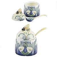 Old Tupton Ware–diseño de Snowdrop–Honey Pot