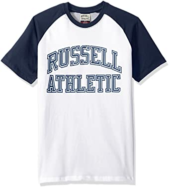 4ae0f3487927f Amazon.com  Russell Athletic Heritage Men s Pro Block Iconic Arch ...